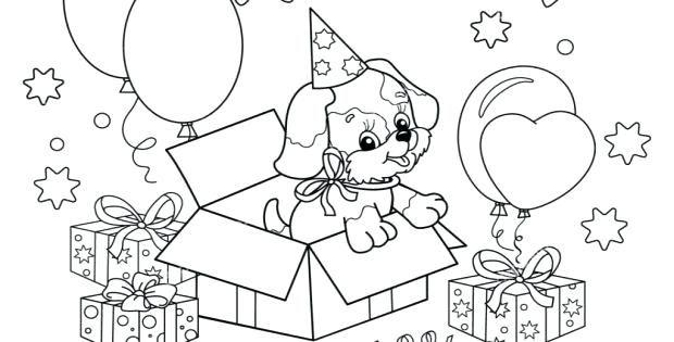 Kleurplaten Hond En Puppy.Puppys Kleurplaten Puppy Kleurplaten Schattige Honden