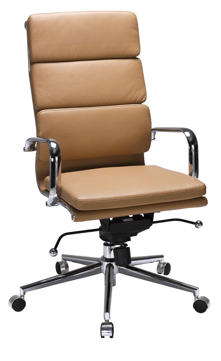 Valencia High Back Chair Camel
