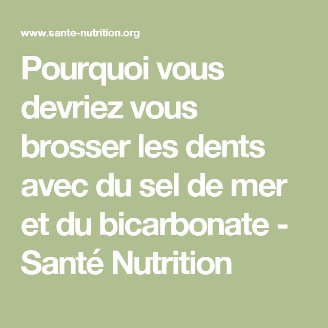 17 meilleures id es propos de brosser les dents sur - Desherber avec du sel ...