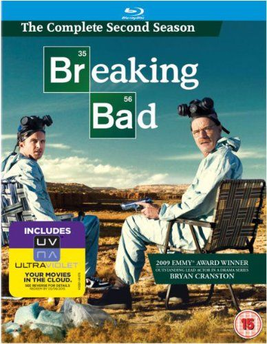 Breaking Bad: Season 2 [Blu-ray] @ niftywarehouse.com #NiftyWarehouse #BreakingBad #AMC #Show #TV #Shows #Gifts #Merchandise #WalterWhite