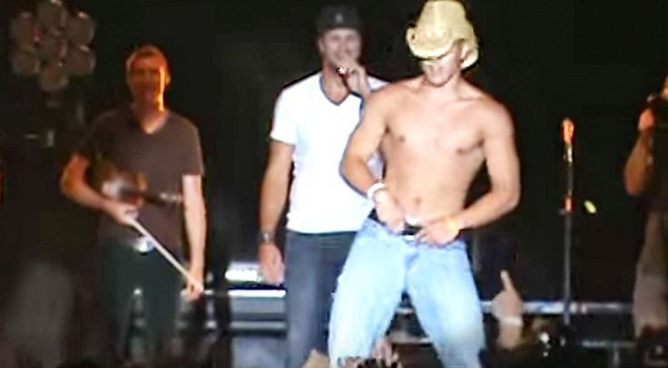Country Music Lyrics - Quotes - Songs  - Luke Bryan Shows Up Shirtless Fan During Sexy Concert Dance Off - Youtube Music Videos https://countryrebel.com/blogs/videos/luke-bryan-shows-up-shirtless-fan-during-sexy-concert-dance-off