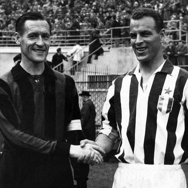 Nils #Liedholm #Milan e John #Charles #Juventus