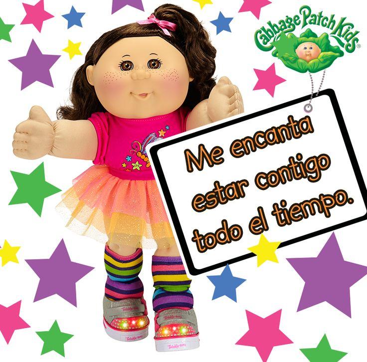 Me encanta estar contigo. #cabbagepatch #cabbagepatchkids #amigas #muñeca #niñas #abrazo #sketchers