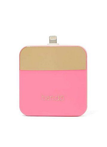 Portable Chargers: iPhone running out of battery? This pretty, portable charger ($30) will come in handy.