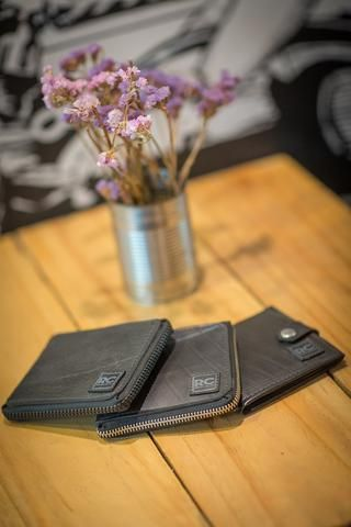 Inner tube wallet collection - Recycle Creative