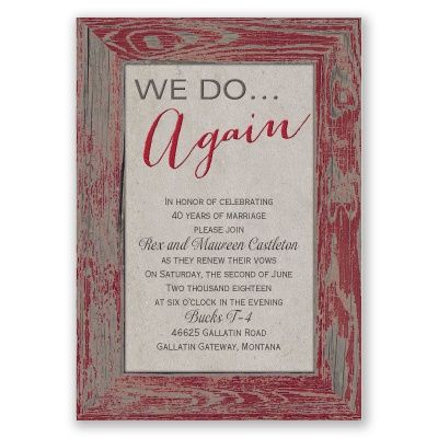 25+ best ideas about vow renewal invitations on pinterest, Wedding invitations