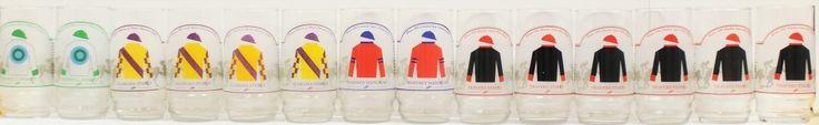 Set of (14) Saratoga Highball Glasses