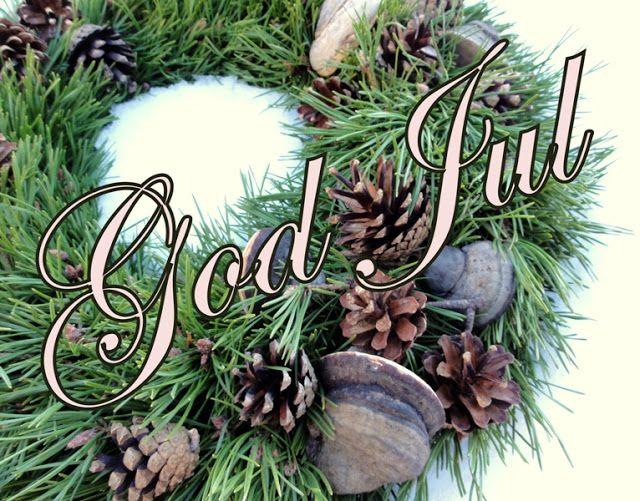 Atelier Kari naturdekorasjoner og kranser: God Jul til alle!