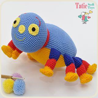 woolly spider crochet pattern