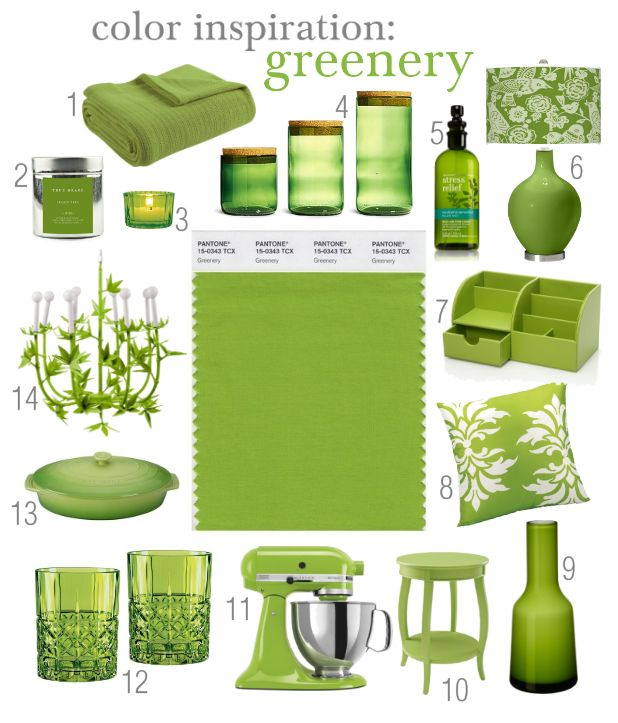 17 Best Images About Greenery 2017 Pantone Color Of The