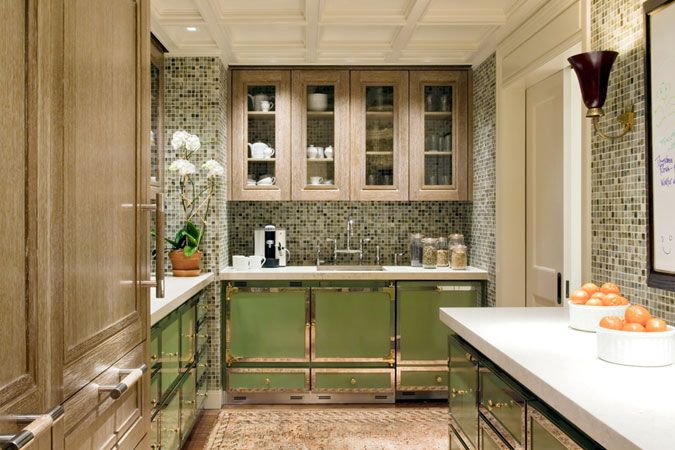 on Pinterest  Favorite paint colors, Green kitchen and Green cabinets