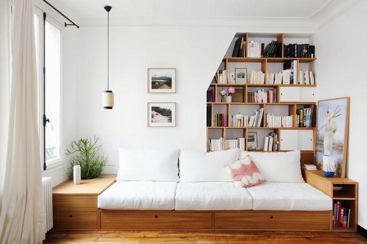 82 best images about inspiration cozy nook on pinterest - Lit sur estrade ...