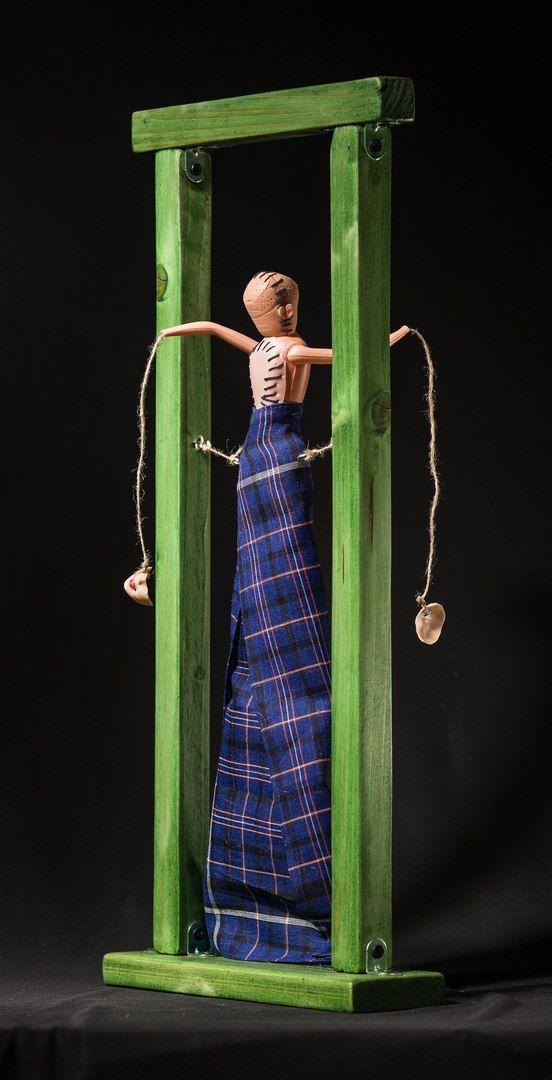 """""""Слепое суждение"""" #хоррор #куклы #ужас #ручная работа #боль #страх #фетиш #зло #жестокость #жуть #кошмар #арт"""