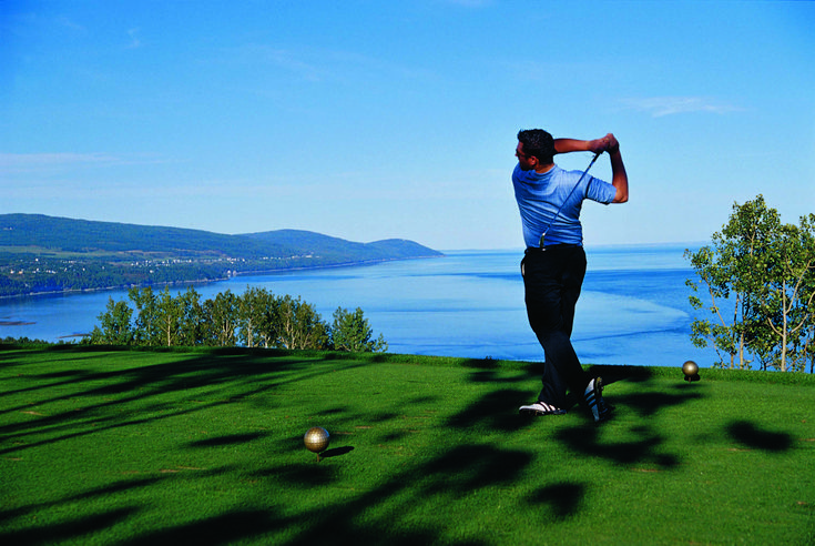 Golf in La Malbaie/Photo: Tourisme Charlevoix