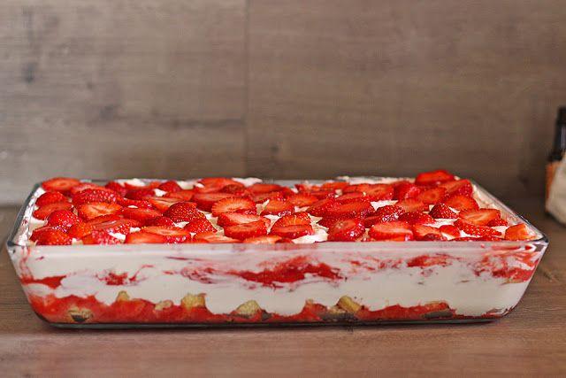 Leckere Rezepte: Erdbeer Tiramisu