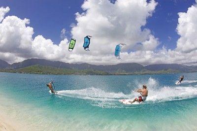Kitesurfing Tobago