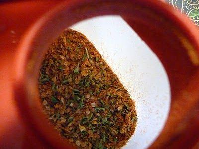 Knockoff tastefully simple seasoning salt - I use it on everything. My favorite is grilled asparagus