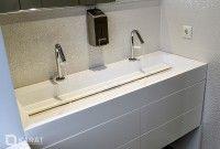 Столешницы для ванной из искусственного акрилового камня