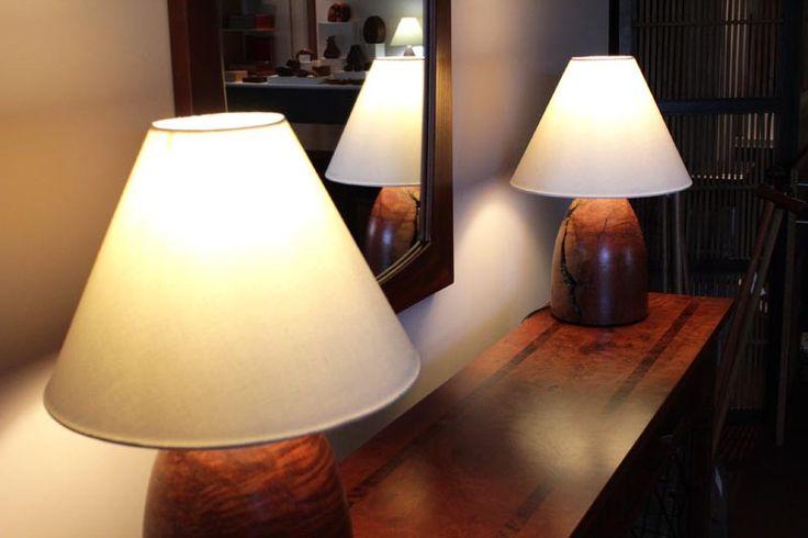 Buy Redgum Bullet Lamp Online   Australian Woodwork   Australian Woodwork