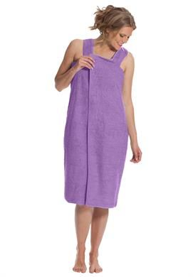 Wearable Towel by Dreams & Co. | Plus Size Robes & Slippers | Roamans