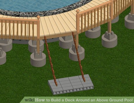 Best Above Ground Pool Steps Ideas On Pinterest Pool Steps