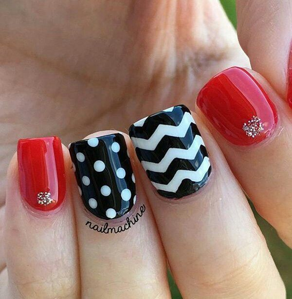 Cute Easy Nail Designs Using Tape: 17 Best Ideas About Toe Nails Red On Pinterest