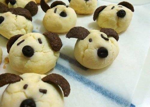 Come fare biscotti a forma di cane bicolore