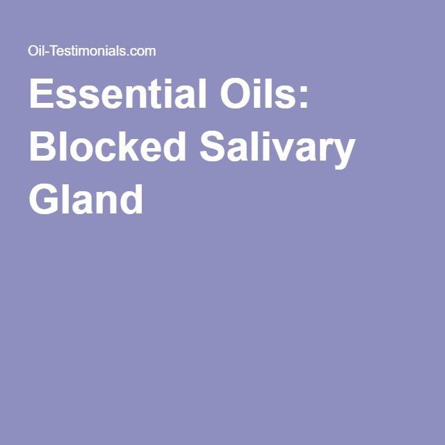 Blocked Salivary Gland Natural Remedies