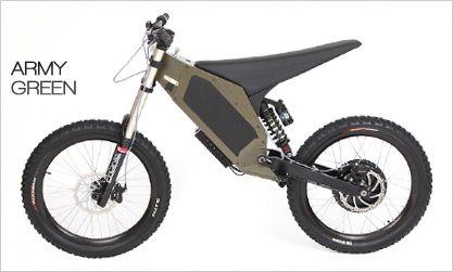 The Hurricane electric dirtbike