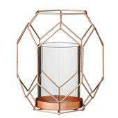 Metal Votive 17cm, Copper - Bloomingville - Bloomingville - RoyalDesign.com