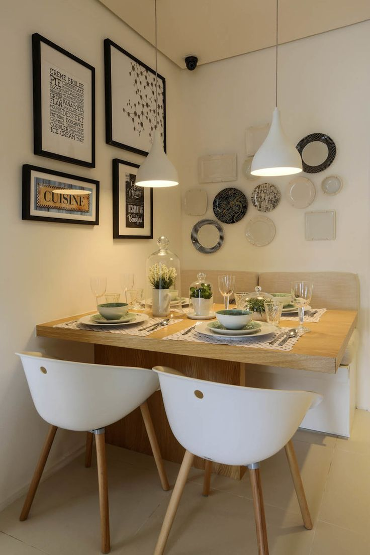 Small dining rooms and areas are inherently