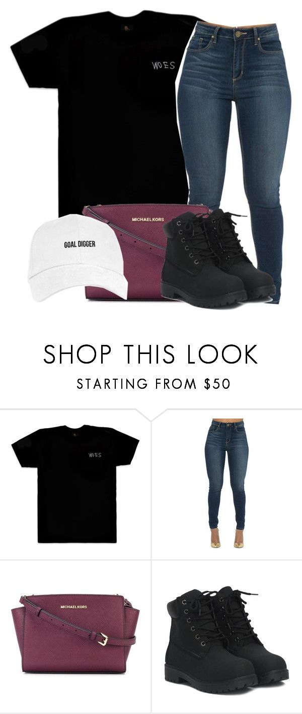 """""""Untitled #614"""" by ramenmatty ❤ liked on Polyvore featuring October's Very Own and MICHAEL Michael Kors"""
