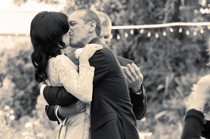 #wedding #wedding photography #romantic #first kiss #kiss #beaufield mews http://www.emmamay.ie/