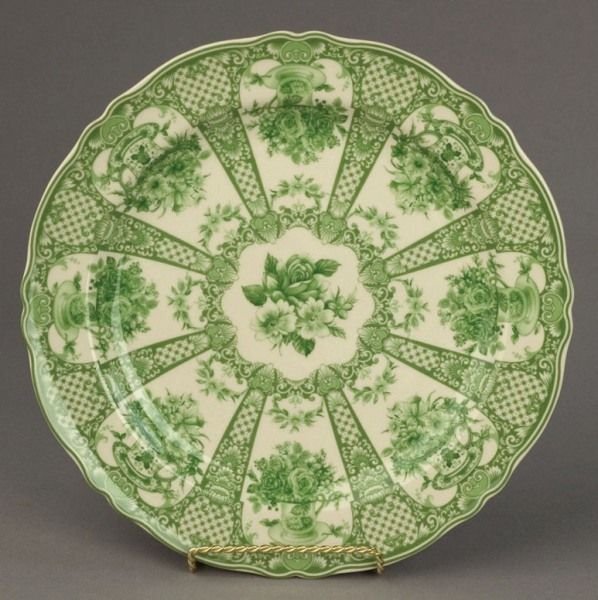 Toile Green Floral w/ Pillars Dinnerware & 117 best Nothing But Toile... images on Pinterest | Toile Canvases ...