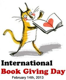 International Book Giving Day-Join our facebook page @creativemindspublications and nominate a worthy recipient of an autographed copy of Amy's Travels on this special day!