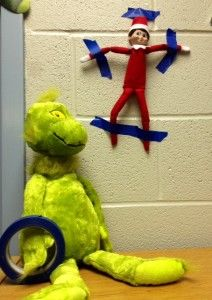 Elf on the Library Shelf, Day 4: The Grinch!