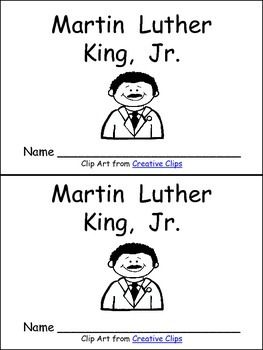 Finding nonfiction materials at an appropriate level for Martin Luther King, Jr. Day for young students is always difficult!! With that thought in mind, I created this little book about Martin Luther King for MLK Day in kindergarten (or first grade) classrooms!!  This book has one fact per page with illustrations to support young readers. Many sight words are used to support early readers as they begin to read nonfiction text.