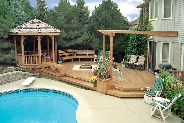 This 10 foot octagon cedar gazebo was built in Ancaster for our 2nd customer ever.