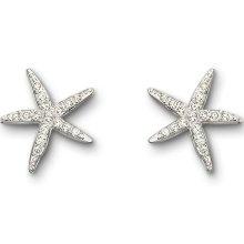 Starfish...: Stars Earrings, Starfish Piercing, Piercing Earrings, Swarovski Crystals, Swarovski Starfish, Accessories, Swarovski Holly, Holly Starfish, Starfish Earrings