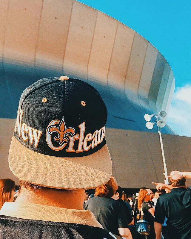 Saints game then seeing The Spill Canvas tonight! ⚜️ #WhoDat