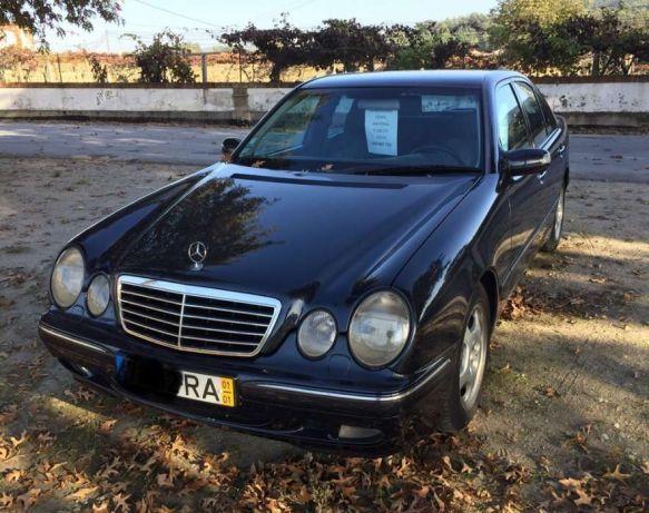 Mercedes E 220 cdi w210 preços usados