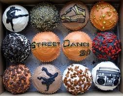 Dance Cupcakes for Stephanie!  Cute idea for a dance party!
