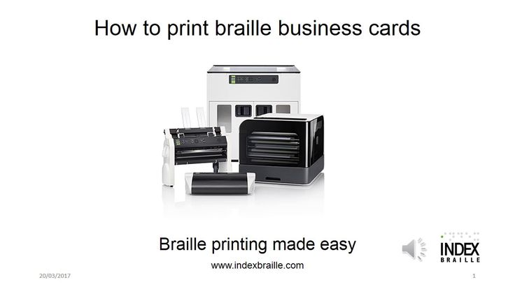 You can print braille business cards on Everest-D V4/V5. Having braille on your business cards shows that your organization is an inclusive organization. Watch this video on how to print braille business cards on Everest-D V4/V5.