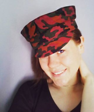 Made for order! Peaked cap, Military cap, Jeans military cap, Fashion cap, Kartuz, Women cap, Women spring summer 2017, women summer cap, Wommen spring cam, women autumn cap, Military outfit, Women military style, Women military hats, Multicolor cap, Salerman cap, Saler cap, Saler hat, military, safari style, Safari style, Women head accessories, Women hats,SS 2017, jeans outfit, jeans style #MilitaryHatsForWomen