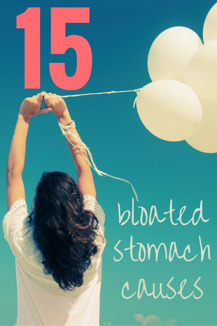What's causing your bloated stomach? 15 causes revealed!