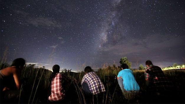Exento de contaminación, podrá   observar el universo.