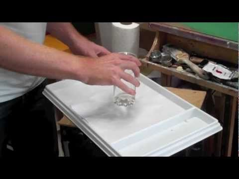 Acrylic Painting Lessons: setting up an acrylic stay-wet palette - YouTube - How to use a stay wet palette