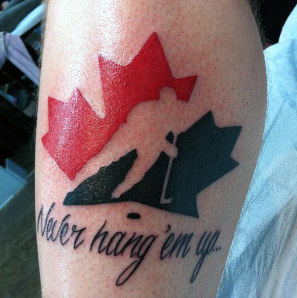 hockey tattoos - Google Search
