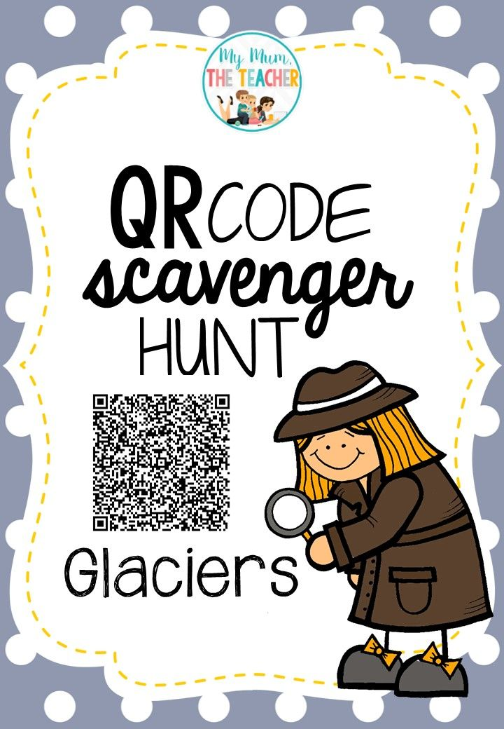 Get your students up and moving whilst learning!! This QR Code Scavenger Hunt aims to build on what students have learnt about Glaciers by introducing them to some of the world's most iconic glaciers. 14 pages for $3.50!