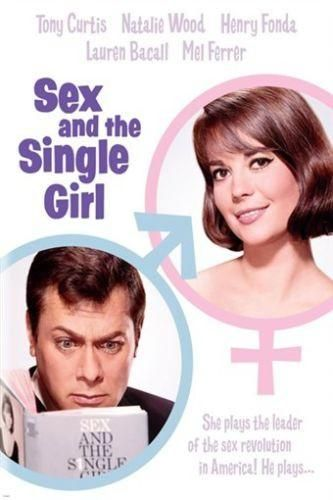tony CURTIS natalie WOOD sex and the single girl MOVIE POSTER 24X36 CLASSIC